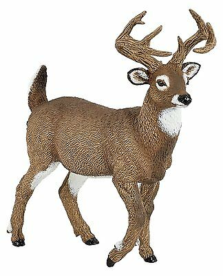 WHITE TAILED DEER Replica # 53021 ~ New for 2016 ~FREE SHIP/USA w/ $25.+ Papo