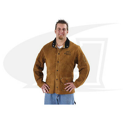 Side Split Cowhide Welding Coat - Multiple Lengths Available