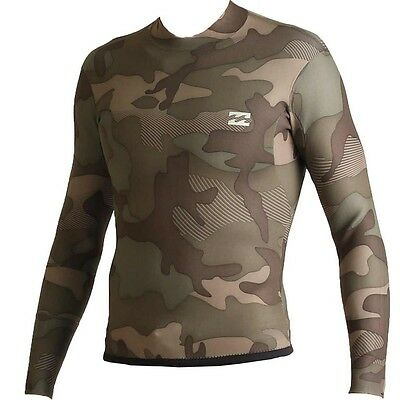 Billabong 202 Revolution Tribong 2mm Reversible Wetsuit Jacket - CAMO