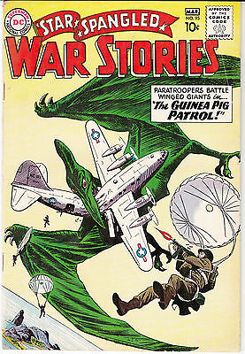 Star Spangled War Stories #95 (Feb/Mar1961, DC)* Hard to Find* Dinosaurs (c & s)