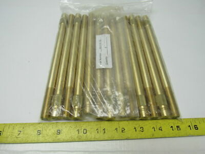 "PCS 352X8 1/2  Brass Mold Cooling Extension Plug 1/4"" X 8-1/2"" Lot of 13"