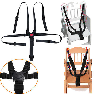 5 Point Baby Infant Safe Belt Strap Harness For Stroller High Chair Pram Buggy
