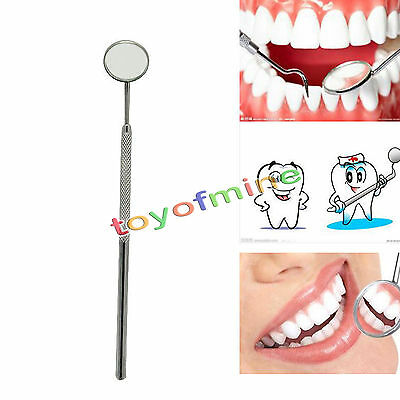 1 Pc Dental Mirror Tool Dentist for Teeth Cleaning Inspection Handle Mirror