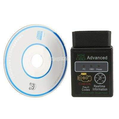 ELM327 Voiture OBDII Bluetooth ODB2 HH OBD Scanner Diagnostic Auto outils IS