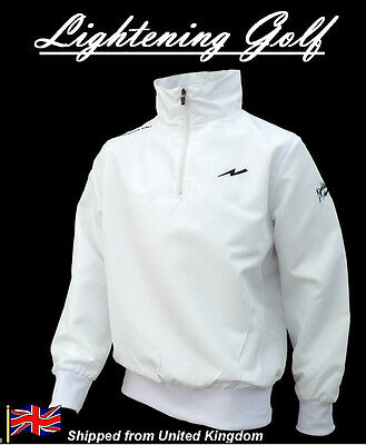 Bianco Giacca Da Golf - Taglia XXLarge - Lightening Impermeabile antivento XXL