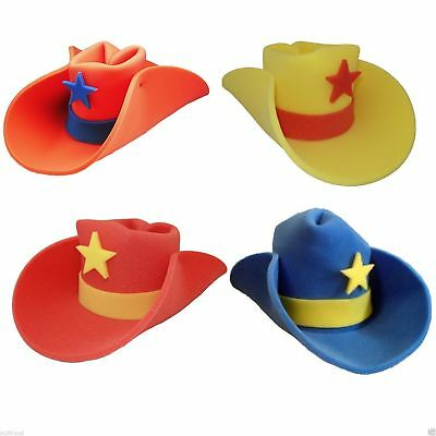 30 Gallon Foam Cowboy Costume Hat Pick Color 10 20 Giant Big Huge Jumbo Western