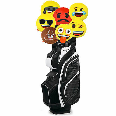 Official Emoji Novelty Golf Head Cover - Driver Woods 460CC Plush Gift Headcover