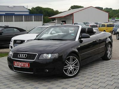 audi a4 cabriolet 1 8 t automatik leder lpg eur picclick de. Black Bedroom Furniture Sets. Home Design Ideas