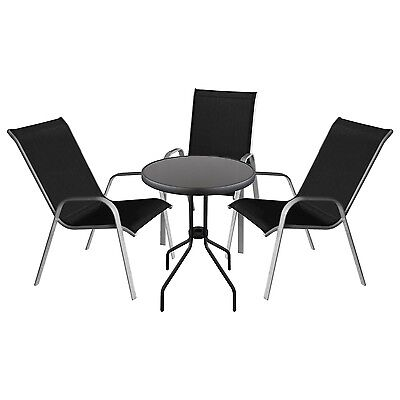 balkonm bel tisch und stuhl st hle sitzgruppe wetterfest rattan glas eur 15 00 picclick de. Black Bedroom Furniture Sets. Home Design Ideas