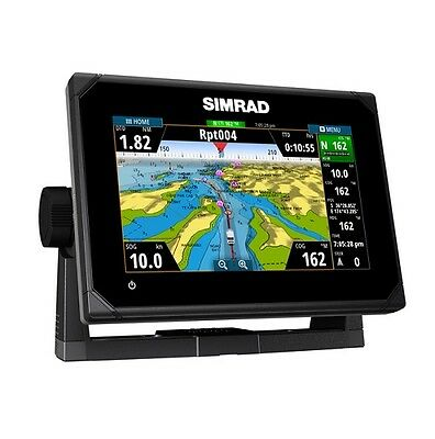 "Simrad 000-12671-001  Go7 Xse 7"" Plotter With Totalscan Transom Mount"