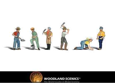 Woodland Scenics A2148 Track Workers Figures N Gauge