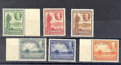 ANTIGUA SG 81-6 1932 TERCENTENARY SET TO 3d MNH