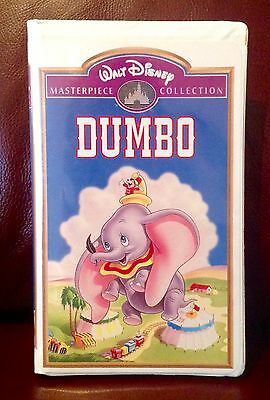 Walt Disney's Dumbo Masterpiece Collection VHS RARE FREE SHIP