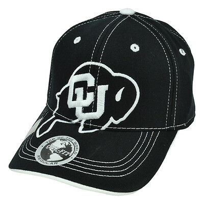 separation shoes 37a45 406d6 NCAA Top of The World Hat Cap Flex Fit Stitches Constructed Colorado  Buffaloes