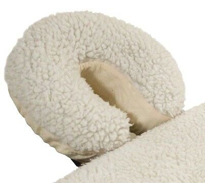 "Massage Face Cradle Cover Poly-Fleece 3/4"" pile"