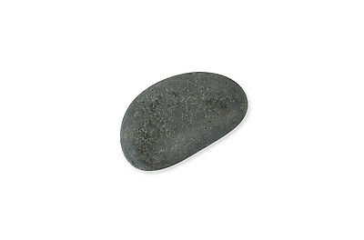 """1 pc Contour All Natural Basalt Stone for Hot Stone Therapy Size 4.0""""-5.0"""""""