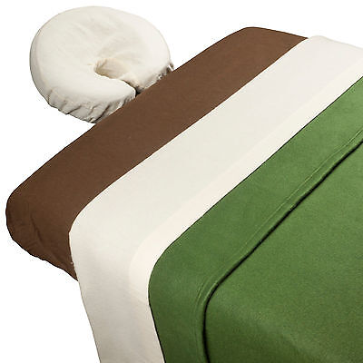 Forest Glade™ Theme Massage Table Sheet Set with Blanket & Bag