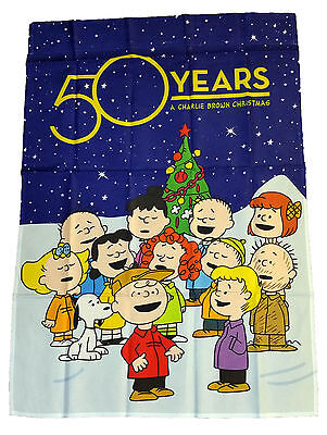Peanuts Snoopy 50 Years A Charlie Brown Christmas Flag 28
