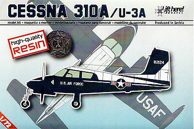 lhm021/ Lift Here Models - Cessna 310A / U-3A - Resin - 1/72 - RARITÄT