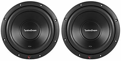 "2) Rockford Fosgate R2D2-10 Prime 10"" 1000 Watt Dual 2 Ohm Car Audio Subwoofers"