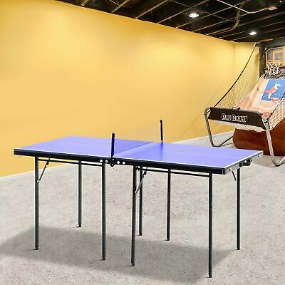 Folding Mini Table Tennis Top Ping Pong Set Professional Net Games  sc 1 st  PicClick UK & FOLDING MINI Table Tennis Top Ping Pong Set Professional Net Games ...