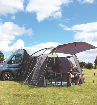 Cayman XL GREY/GRAPHITE - Outdoor Revolution  Motorhome Drive Away Porch Awning