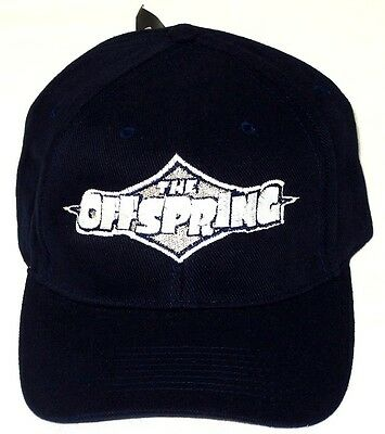 """OFFSPRING, The HAT/CAP """"Diamond Logo"""" Embroidered Navy Blue Licensed NEW"""