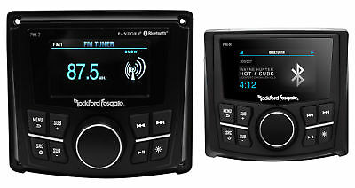 "Rockford Fosgate PMX-2 2.7"" Marine Digital Media Receiver Radio+Remote w/Display"