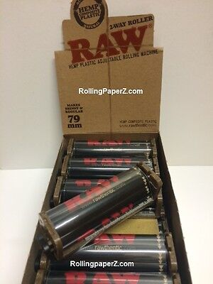RAW®Hemp Ecoplastic Roller 79mm Adjustable Rolling Machine for 1 1/4 1 1/2 Paper