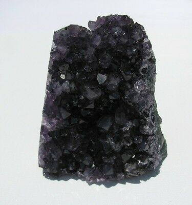 Deep Purple Amethyst Cut Base Clusters from Uruguay - .75-1.25 pounds