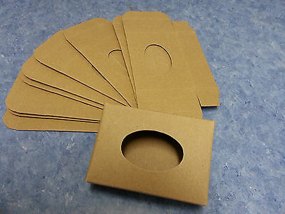 Kraft Soap Box 25 Open Oval Window Cut Out On Front