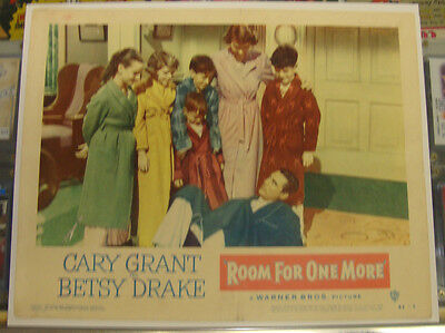 ROOM FOR ONE MORE (1952) 11 X 14 Lobby Card * CARY GRANT * BETSY DRAKE *