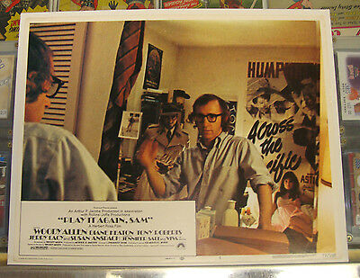 PLAY IT AGAIN SAM (1972) 11 x 14 Lobby Card *WOODY ALLEN *