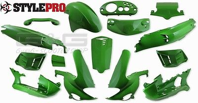 Panels Fairings 15Pcs KAWA Green For Gilera Runner