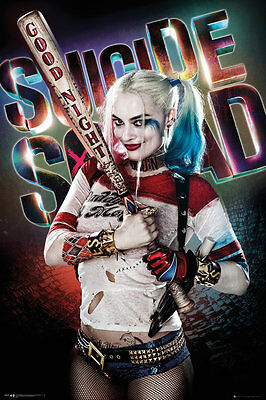 """Suicide Squad Movie Harley Quinn Poster Photo Fridge Magnet 2""""x3"""" Collectibles"""