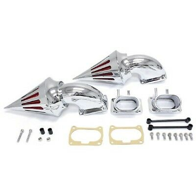 Chrome Spike Air Cleaner Intake Filter Kits For Suzuki Boulevard M109 M109R
