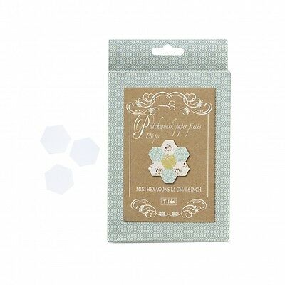 Tilda Spring Lake Mini Hexagon Paper Pieces (TD480826)