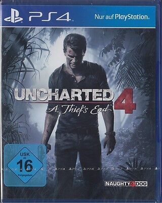 UNCHARTED 4 - A Thief's End - PlayStation 4 / PS4 - Neu & OVP - Deutsche Version