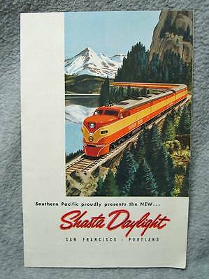 1949 Southern Pacific Presents New Shasta Daylight San Francisco Portland