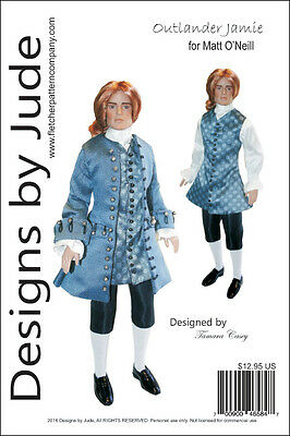 "Autumn Hogwart/'s Doll Clothes Sewing Pattern 17/"" Harry Potter  Tonner"