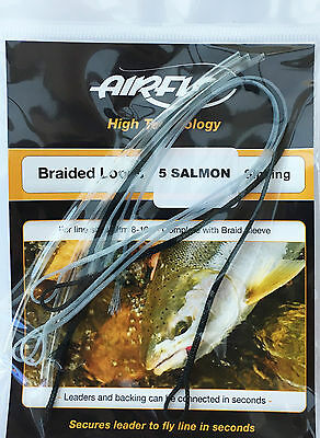 Airflo 5 Salmon Braided Sinking Loops complete with Braid Sleeve Size 8-10+