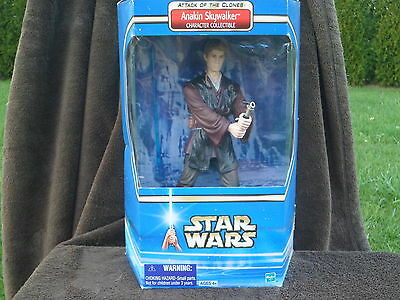 Star Wars 12 inch Anakin Skywalker Attack of the Clones Character Figure 2002