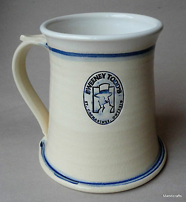 Beer Stein Mug 48oz Lakeside Pottery Canada Sweeney Todd's Pub Brewers Fest '97