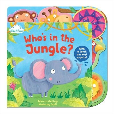 Who's in the Jungle? (Touch-and-feel Tabbed Board Book) (Board bo. 9781909290303