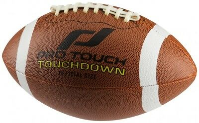 Pro Touch American Football Touchdown brown