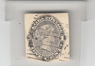 Lot 906- Canada  Cat.no UD1 1c black.Special order for CPR mailings (Dated 1894)