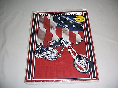 Orange County Choppers Collectors Metal Sign