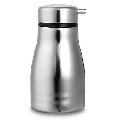 Steel Stainless Condiment Soy Sauce Liquid Bottle Holder Spout 196ML New