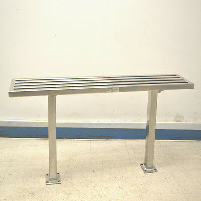 "NTA Industries 3102 Ultra-Clean Lab Stainless Steel 48"" x 9"" x 18"" Gowning Bench"