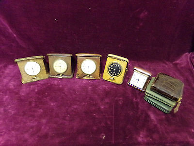 vintage travel clocks